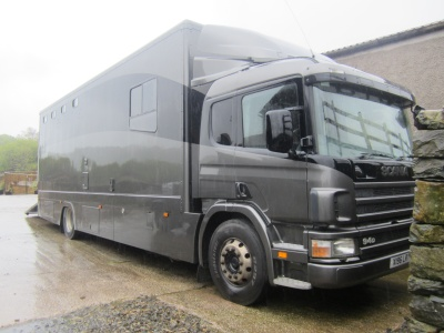 5 horse Scania wagon